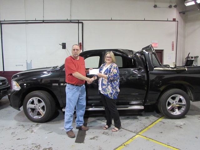 Celina Insurance Group Donates Storm Damaged Vehicle