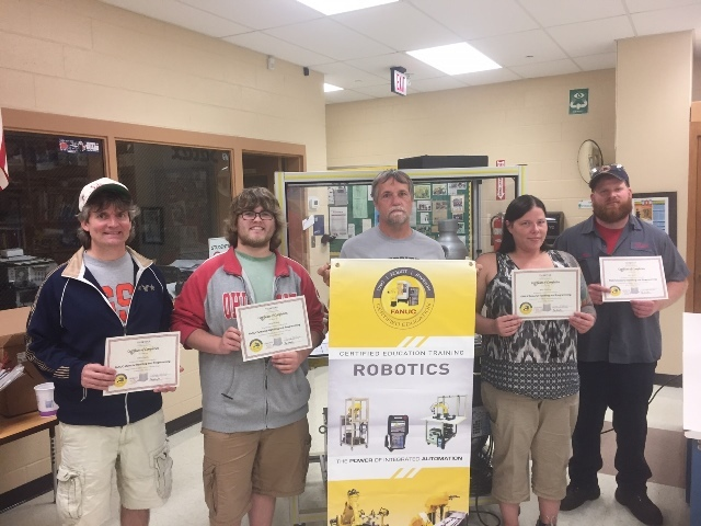 Adult Robotics Class Completes Training: Featured Image 1