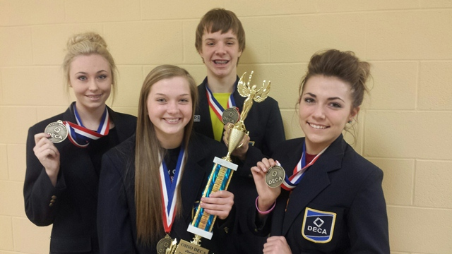 Ohio DECA Winners Headed to International Conference: Featured Image 1