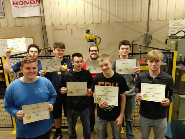 Tri Star CBI Students Earn FANUC Certification: Featured Image 1