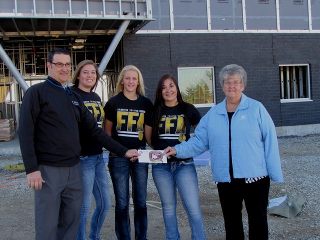 Cooper Farms Makes Donation To New Large Animal Barn: Featured Image 1