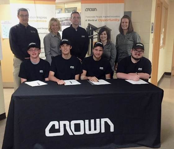 Crown Equipment Career Signing Day: Featured Image 1