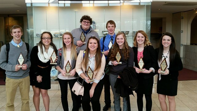 Regional DECA Winners : Featured Image 1