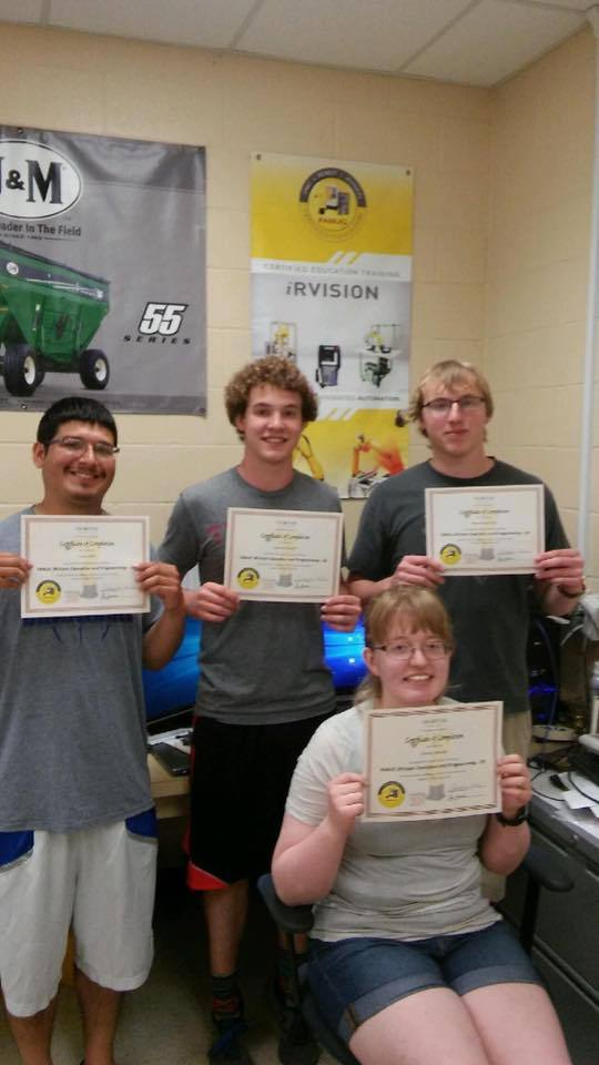 REC Tech Students First to Earn FANUC Robotics Certification: Featured Image 1
