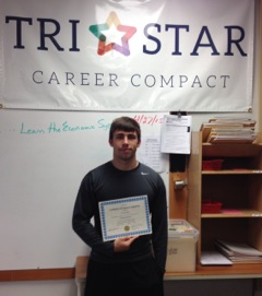 Tri Star Student, Garret Winget, Balances Education…Work…Sports: Featured Image 1