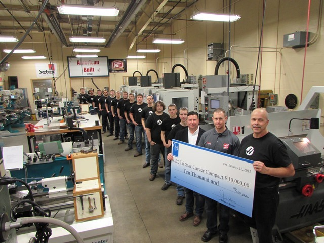 Tri Star Receives Grant from Gene Haas Foundation: Featured Image 1