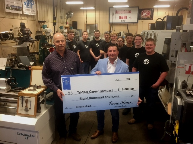 Haas Foundation Donates to Skilled Trades Classes: Featured Image 1
