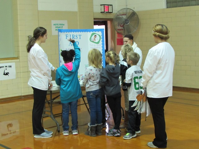Med Prep Students Volunteer at Celina Primary School Health Fair: Featured Image 1