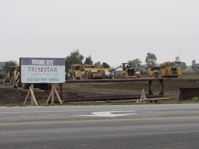 Tri Star 2.0 Building Progress: Featured Image 1