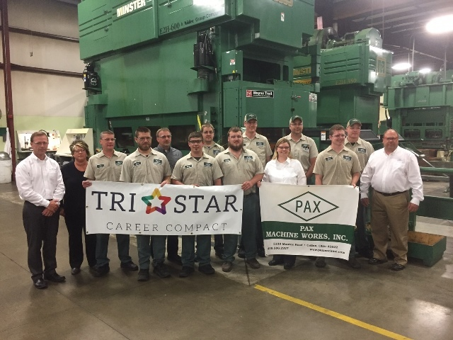 Pax Machine Works Inc  Makes Donation to Tri Star 2 0