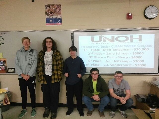 REC Tech Seniors Take Top Five UNOH Scholarships: Featured Image 1