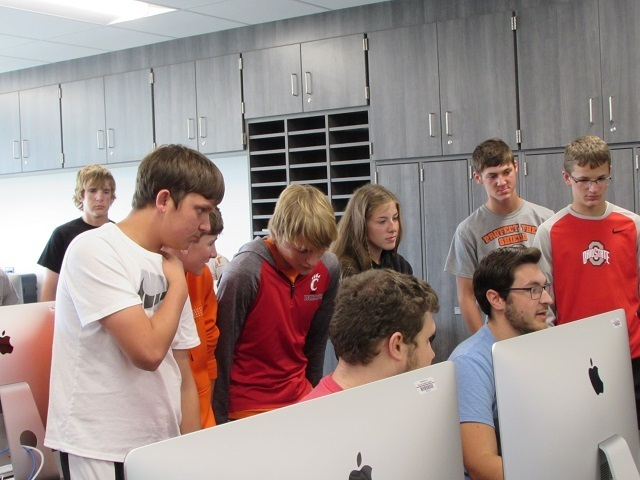 Coldwater Eighth and Ninth Graders Tour Tri Star Programs: Featured Image 1