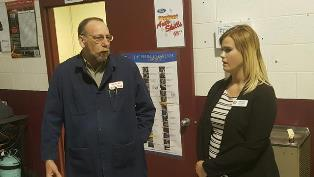 Representative from US Rep. Bob Latta Tours Celina Programs