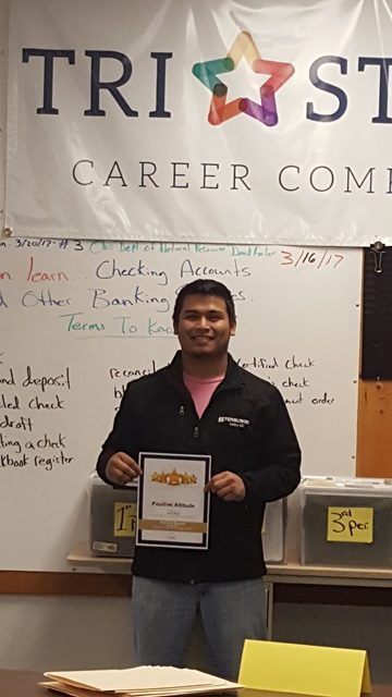 CBI Student's Positive Attitude Recognized by Employer: Featured Image 1