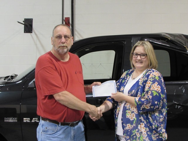 Celina Insurance Group Donates Storm Damaged Vehicle: Featured Image 1