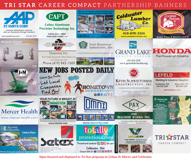 Tri Star Career Compact Partnership Banners : Featured Image 1