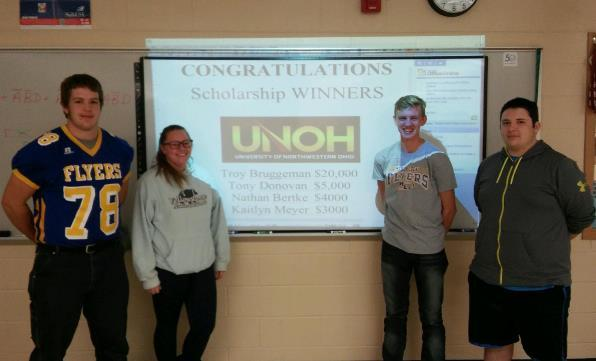 REC Tech Students Take Top Four Scholarships: Featured Image 1