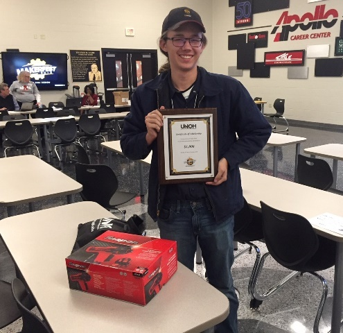 Wyatt Childress Takes First Place In Makerfest Auto Repair Competition: Featured Image 1