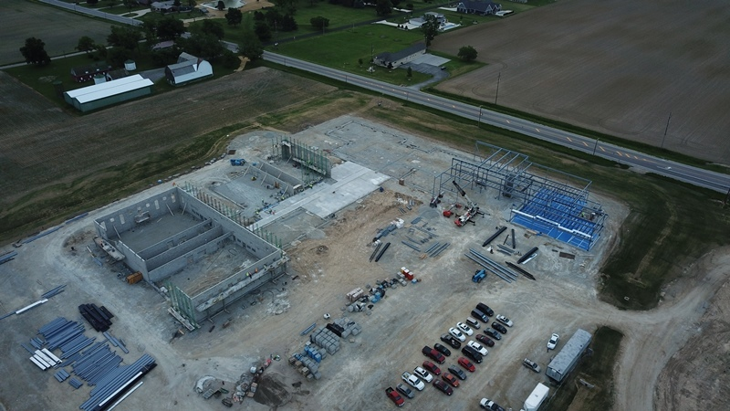 New Tri Star Facility:  Latest Aerial View